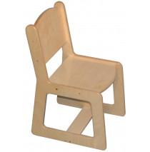 Mainstream Preschool Chair, 12''h seat. (10''h Toddler shown)