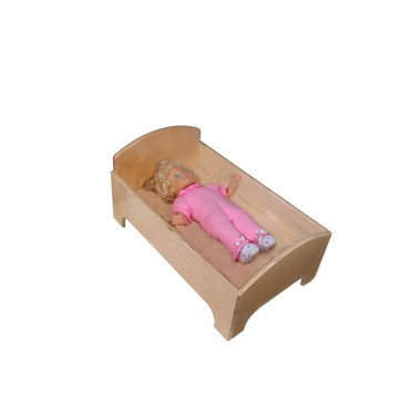 Mainstream Doll Bed, 24''w x 15''d x 12''h (Mattress not Included) - sf270dollbed-360x365.jpg