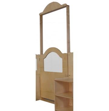 Mainstream Short Door w/Frame, Wave Design & Cap, 36''w x 6''d x 84''h - sf3285_wvrmdivshdoor-360x365.jpg