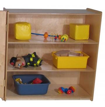 Mainstream Small Room Divider Storage Unit, 36''w x 15''d x 36''h, 3 shelves - sf3377_rmdivsmallstrg-360x365.jpg