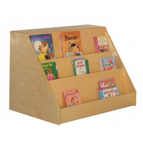 Mainstream Book Display with Storage Unit, 36''w x 24''d x 26''h