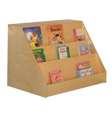 Mainstream Book Display with Storage Unit, 36''w x 24''d x 26''h - sf351_msbkdisplaywstor-360x365.jpg