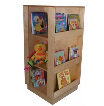 Mainstream Mobile Library Center, 24''w x 24''d x 50''h (shown without casters)