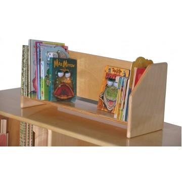Mainstream Portable Book Display, 24''w x 10''d x 8''h - sf361_portablebkdisplay-360x365.jpg