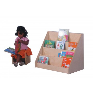 Mainstream Infant/Toddler Book Display, 30''w x 16''d x 24''h - sf369_msitbkdsply-girl-360x365.jpg