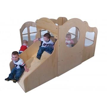 Strictly For Kids Mainstream I/T Indoor Mini Dream Loft, Beige carpet (Blue carpet shown) - sf443w_dreamloft-360x365.jpg
