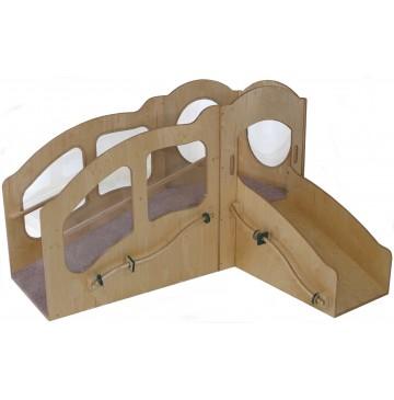 Strictly For Kids Mainstream Slip 'n Slide Infant/Toddler Mini Loft, Wave Design, Blue MagiCarpet (Beige Shown) - sf448wbg_itlftslipslide-360x365.jpg