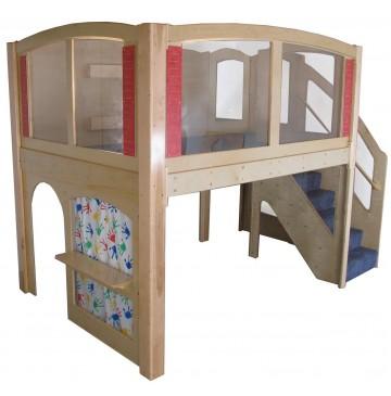 Strictly For Kids Mainstream Preschool Navigator 1 Wave Loft with Blue Carpet - sf5030_nav1wloftbl-r-360x365.jpg