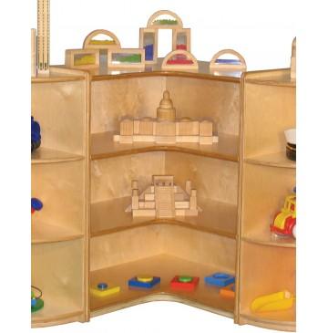 Mainstream 90 degree Wave Cabinet, 30''w x 30''d x 30''h (36''h shown) - sf617_90degwave36h-360x365.jpg