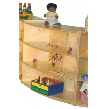 Mainstream Outer Wave Cabinet, 39''w x 15''d x 36''h, 3-shelves