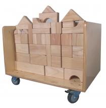Mainstream Unit Block Cart, 24''w x 16''d x 18''h