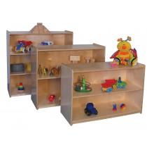 Mainstream Small Storage Unit, 36''w x 15''d x 30''h, 2-shelves