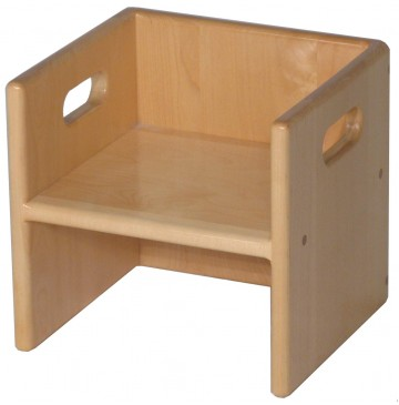 Solid Maple Cube Chair, 11x10x11½h (Cube Chair only) - sk2075_cubechair-360x365.jpg