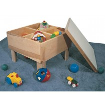 Deluxe Toddler Playtable, 24''w x 24''d x 17''h (cover not included)