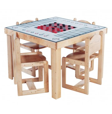 Deluxe Adult Game Table, 35''w x 35''d x 30''h (School Age shown) (Chairs not included) - sk2567sa_dlxgametablechrs-360x365.jpg