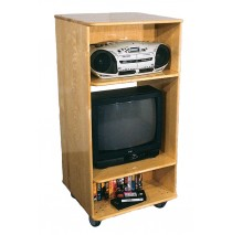 Maple Media Center, 24''w x 24''d x 50''h