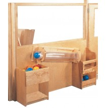 Deluxe Room Divider with Tracking Tube, 48''w