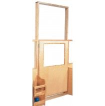 Deluxe Short Door with Frame, 38''w