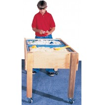 Deluxe School Age Double Sensory Table, 30''h (Preschool shown)
