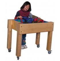 Deluxe Preschool Single Tub Sensory Table, 30''w x 26''d