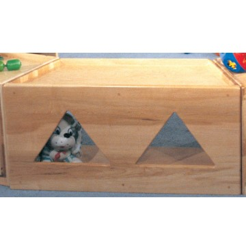 Deluxe Trapezoid Primary Care Cabinet w/Triangular Windows, 36''w x 15''d x 18''h - sk3465_primcartraptri-360x365.jpg