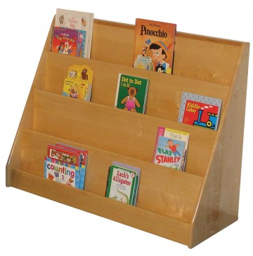 Strictly For Kids Deluxe Book Display, 42''w x 16''d x 32''h - sk350_dlxbookdisplay-360x365.jpg