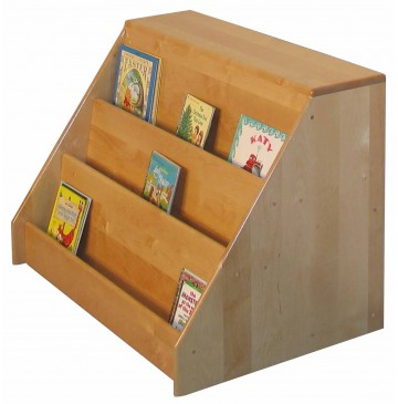 Strictly For Kids Deluxe Book Display with Storage, 36''w x 24''d x 26''h - sk351_bkdisplayw-storage-360x365.jpg