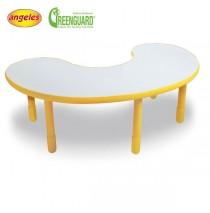 Angeles BaseLine Kidney Table - Yellow