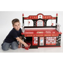 Firefighter Bench Seat w/Storage