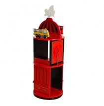 Firefighter Revolving Bookcase