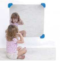 Mirrors with Mirror Corners & Side Safes by Childrens Factory