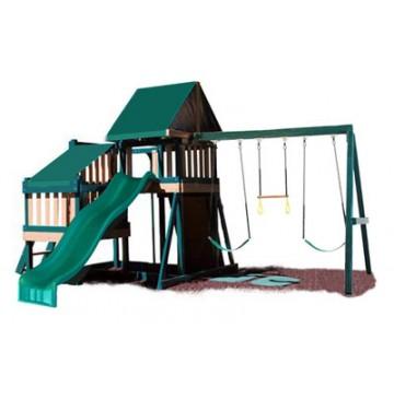 Kidwise Congo Monkey Playsystems  #2 Green & Sand - monkey-playsystem-2-green-360x365.jpg
