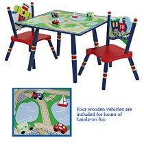 Gettin Around Table & 2 Chair Set