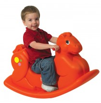 Orange Rocking Horse by Childrens Factory