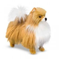 Meliss & Doug Pomeranian Plush Dog