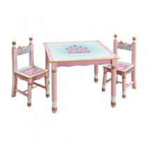 Guidecraft Princess Table and 2 Chair Set