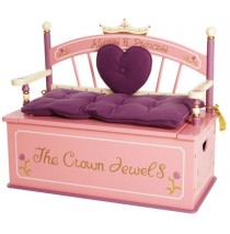 Princess Bench Seat w/ Storage