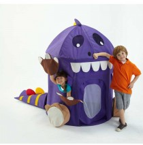 Dinosaur Play Tent With Toy Storage, Tail and Feet