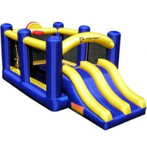 Racing Slide & Slam Recreational Bounce House