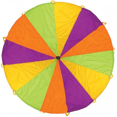 Pacific Play Tents 10 Ft Rainbow Playchute Parachute