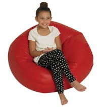 Round Bean Bags - Red