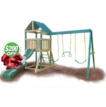 KidWise Congo Safari Swing Set