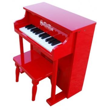 Schoenhut Traditional Spinet Toy Piano 25 Key Red - schoenhut6625R-360x365.jpg