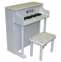Schoenhut Traditional Spinet Toy Piano 25 Key White