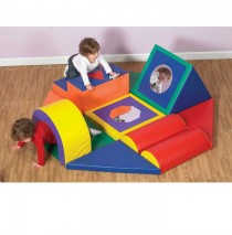 Shape & Play Obstacle Course by Childrens Factory