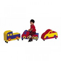 Soft Ride-Ons - Set of 3 by Children's Factory