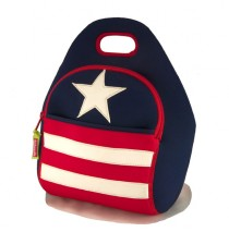 Stars & Stripes Lunch Bag by Daddawalla Bags