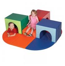 Triple Crawl Thru Climber by Childrens Factory