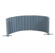 Quiet Divider® with Sound Sponge® 30″ x 10′ Wall – Slate Blue