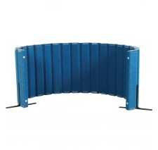 Quiet Divider® with Sound Sponge® 30″ x 10′ Wall – Blueberry